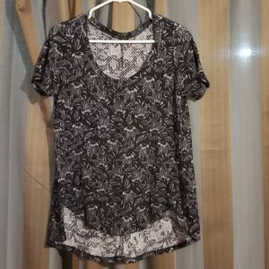 Sweet Claire black and white tunic